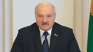 Лукашенко: Это что такое? Каждый десятый комбайн не отремонтирован. Панорама