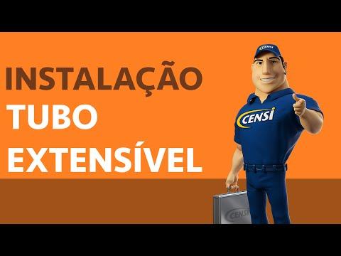 Tubo Extensi´vel - Instalação