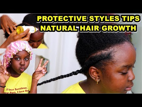 How To Care For Natural Hair Before Protective Styling Mohawk