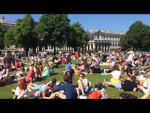 Watching the Royal Wedding by National Maritime Museum in Greenwich