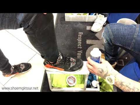 How to clean Nike huarache shoes