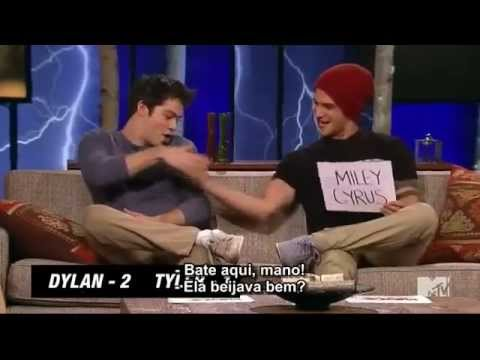 Tyler Posey Talks About | FIRST KISS | With Miley