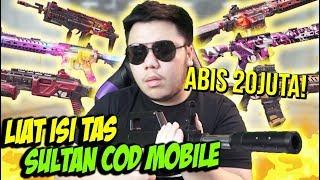 LIAT ISI TAS AKUN SULTAN COD MOBILE TOTAL 20JUTA SEMUA SENJATA ADA! - CALL OF DUTY MOBILE INDONESIA