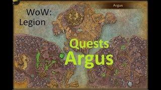 iZocke WoW: Legion Quests auf Argus #139 - Varga (Weltquest)