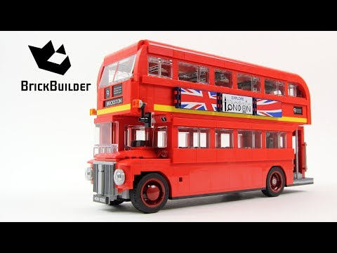 lego creator 10258 london bus lego speed build youtube. Black Bedroom Furniture Sets. Home Design Ideas