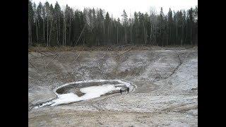 Карстовые провалы. Как озёра России уходят под землю