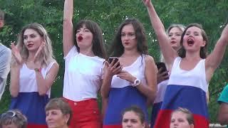 День металлургов 2018 Саяногорск .Ужасный концерт и толпы народа.