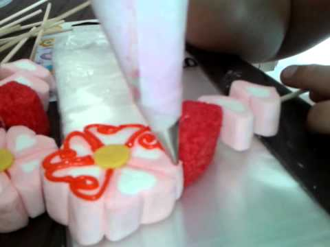 Como decorar bombones - YouTube