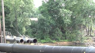 Pipe Bridge Collapse, Colts Neck NJ