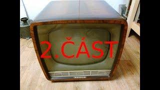 Oprava historické televize Tesla Ametyst (1960/62) 2.díl- Rozborka a vyčištění