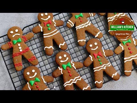 recette-de-noël:-biscuits-façon-pain-d'epices-(gingerbread-men)-|-william's-kitchen