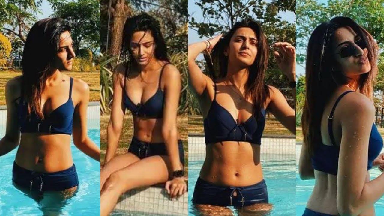 Erica Fernandes ने swimming pool में नहाते हुए करवाया फोटोशूट ! Erica Fernandes Photoshoot