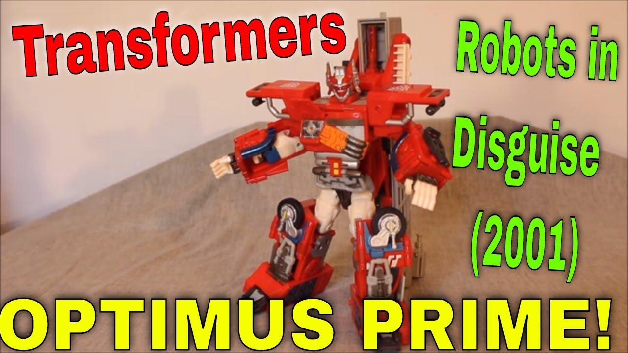 Road to Omega Prime, Part 2: Robots in Disguise 2001 Optimus Prime (Fire Convoy) By GotBot