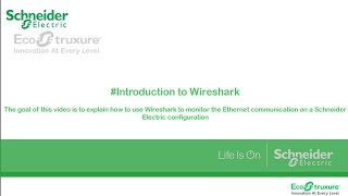 Introduction To Wireshark For Monitoring Industrial Configuration