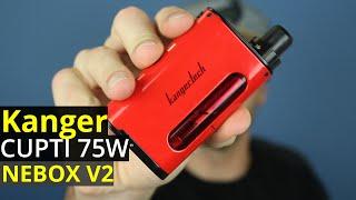 kanger cupti 75w all in one starter kit   nebox v2   the best all in one starter kit