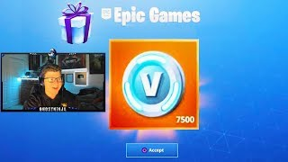 I was GIFTED the secret REWARD.. FINALLY! (Fortnite Battle Royale)