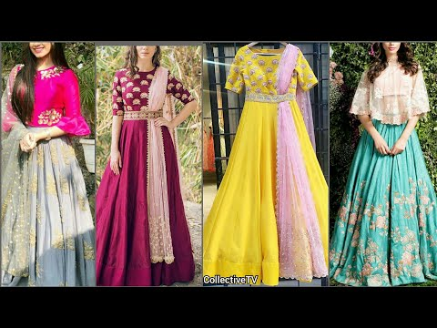 Latest Designer Lehenga Choli/ Half Saree/ Anarkali Designs
