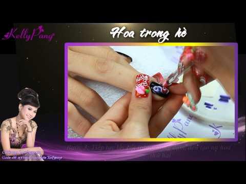 Bản sao của Phim Dạy Vẽ Móng - Hoa Trong Hè - Kelly Pang