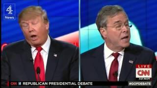 Donald Trump dominates CNN Republican debate