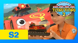 TITIPO S2 EP20 l A Gift for Teo l Train Cartoons For Kids | TITIPO TITIPO 2