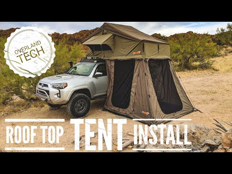 How To Install a Roof Top Tent - Overland Tech