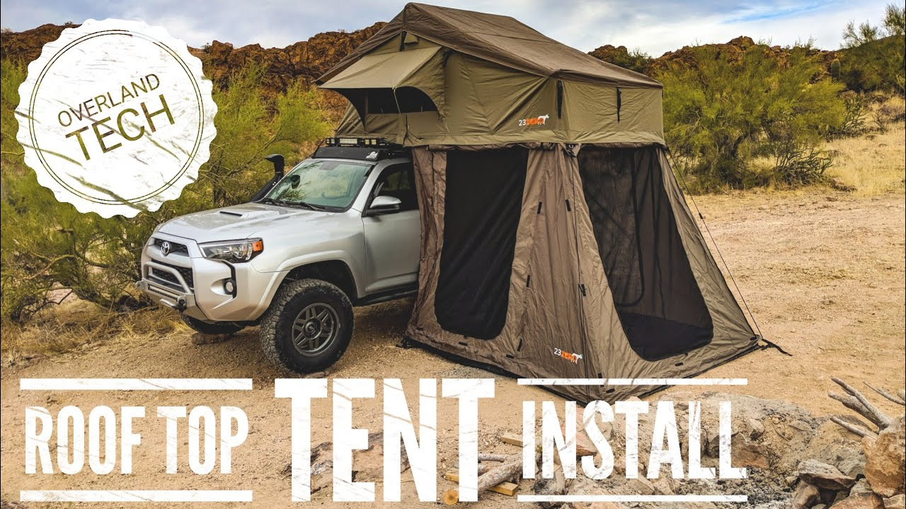 How To Install A Roof Top Tent Lifestyle Overland Youtube