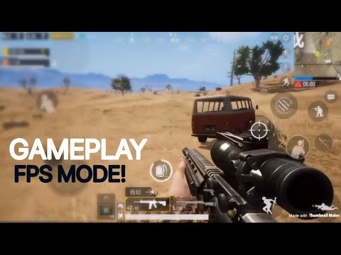New FPS Mode Gameplay! | PUBG Mobile Lightspeed | Update 0.6
