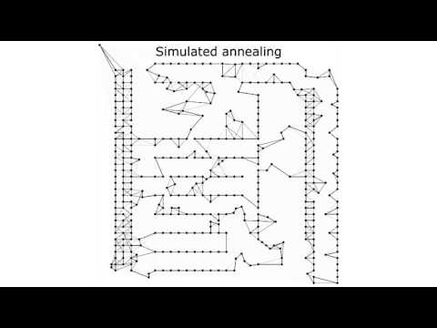 Visualization of metaheuristics for the travelling salesman problem