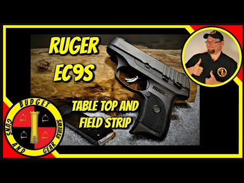 Ruger EC9s Review And Field Strip