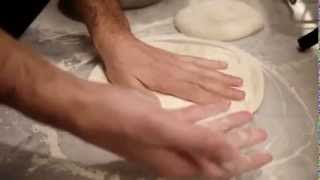 The Making of a Margherita Pizza