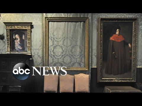 FBI Releases 25-Year Old Video of Boston Art Heist