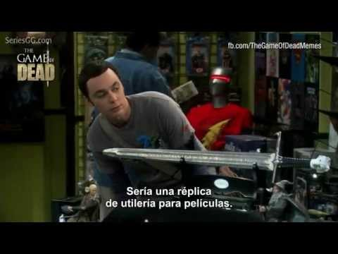 Game of Thrones en The Big Bang Theory (Subtitulado)