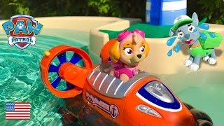 Paw Patrol Toys Special Edition Video Lost at Adventure Bay Skye Mission Paw Surprise Eggs