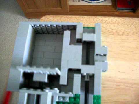 Lego Steam Engine with Cut-Away Cylinder