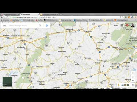 My Maps: Google Maps, Virtual Field Trips w/ Google Street V