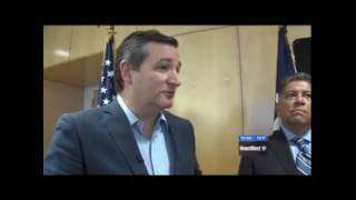 Sen. Cruz visits Midland - KWES 5/20/2017
