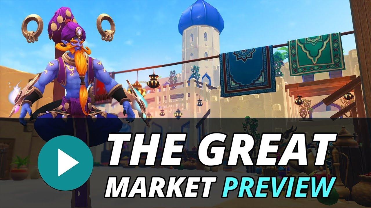 New Map: The Great Market - Trailer