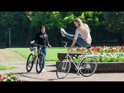 Miss Peaches on the Road: Artistic Cycling