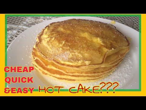 Less than P50! Cheapest hotcake recipe! Sarap! Pang negosyo! Street food!
