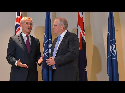 Australia signs partnership deal with NATO