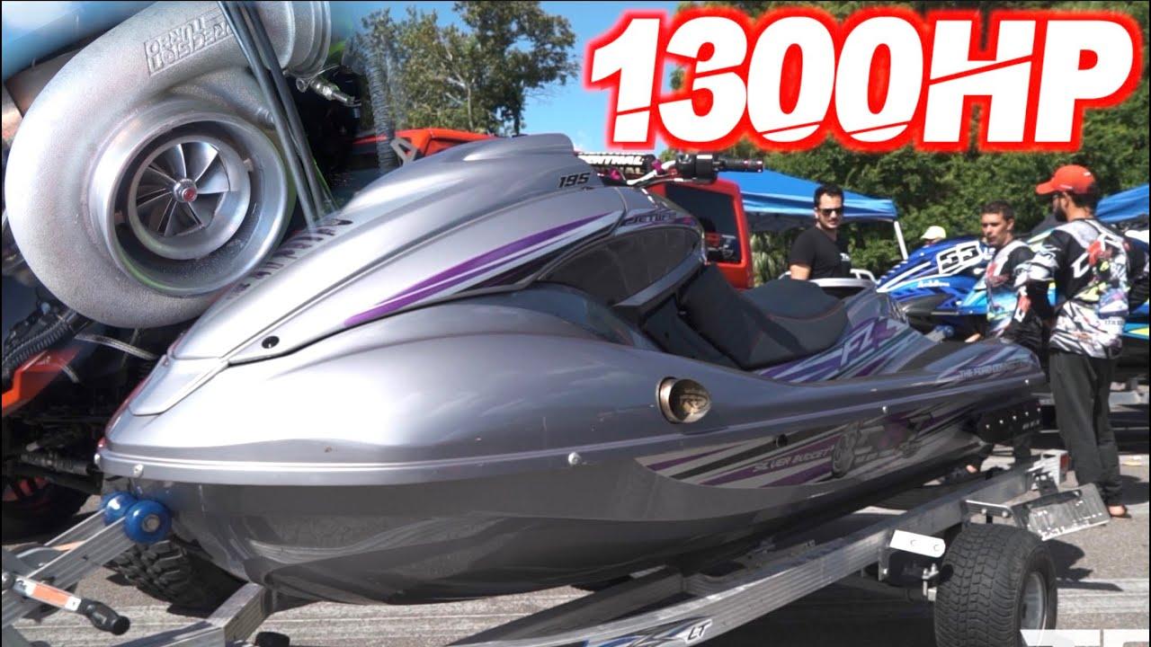 1300HP Turbo Jetski 115MPH + $20,000 Grudge Race! (65PSI OF BOOST + NITROUS!)