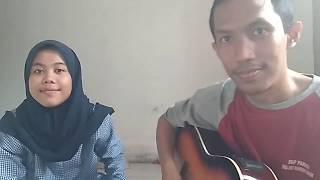 Visioners Generation -Kenangan Terindah (Acoustic Cover) Cover by Nida and Mr. Tsani