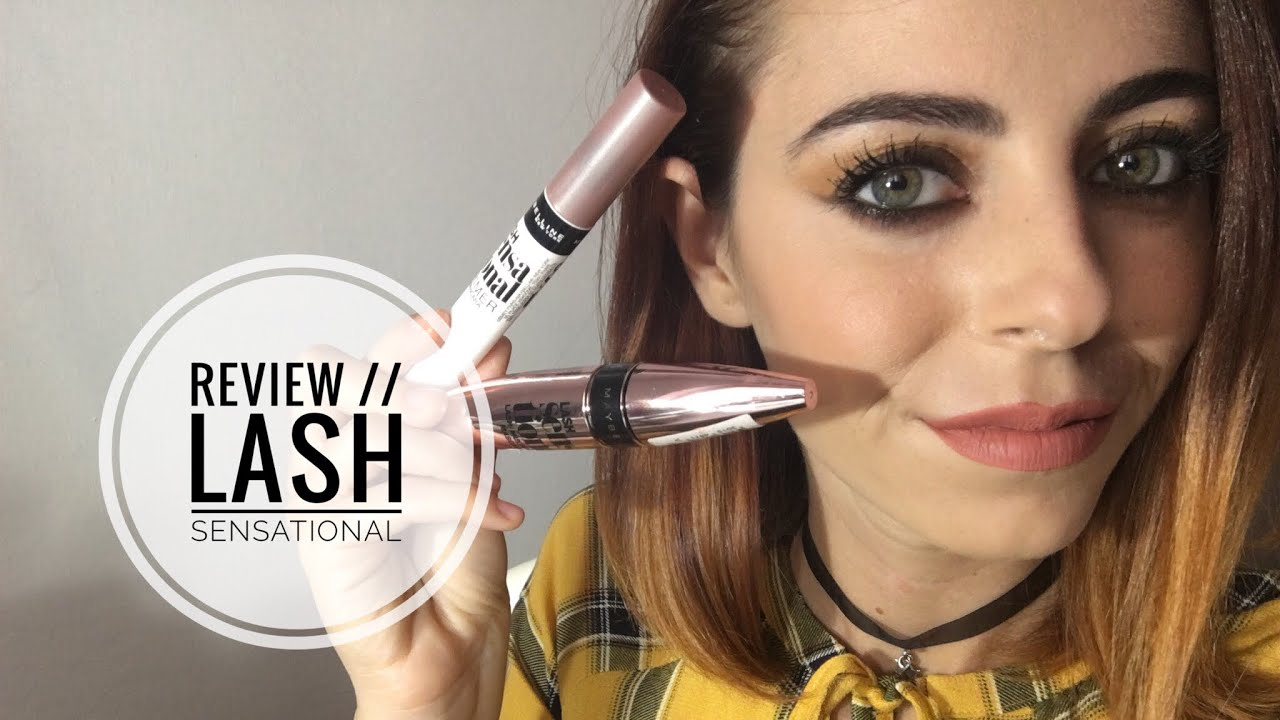 eddd64a5107 Review // Lash Sensational + primer 😍 - YouTube