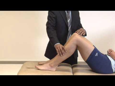 Knee examination overview