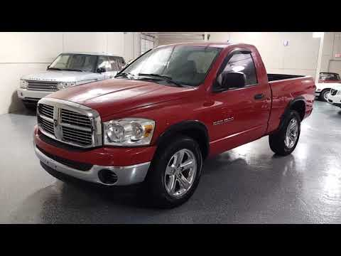 2007 Flame Red /Gray Dodge Ram 1500 SLT 2WD (1D7HA16P47J) with an 4.7L V8 SOHC 16V FFV engine, Automatic transmission, located at 603 Amelia Street, Plymouth, MI, 48170, (734) 459-5520, 42.378841, -83.464546 - Photo #0