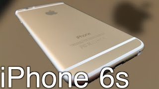 Apple iPhone 6s Unboxing & Impressions! (Gold)