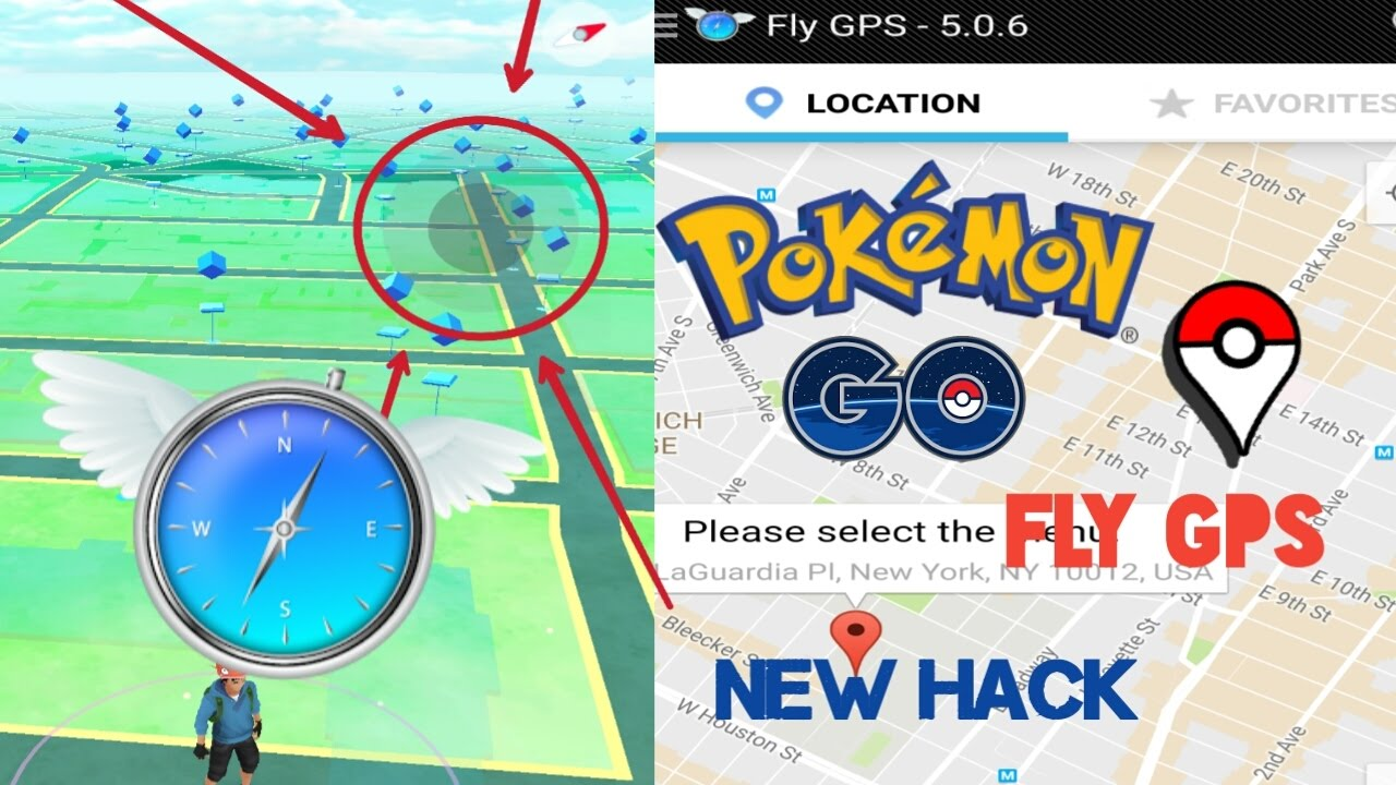Pokémon Go - New Hack Fly GPS (Joystick Mode) || version 5 0 6 || For  Android - No root (2017)