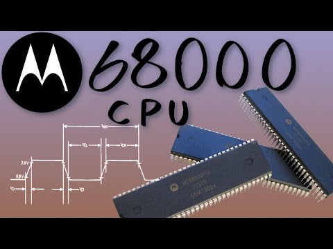 Motorola 68000 CPU single-stepping on a breadboard experiment