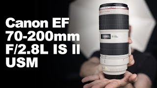 Canon EF 70-200mm 2.8L II IS USM: vale a pena? (Review)