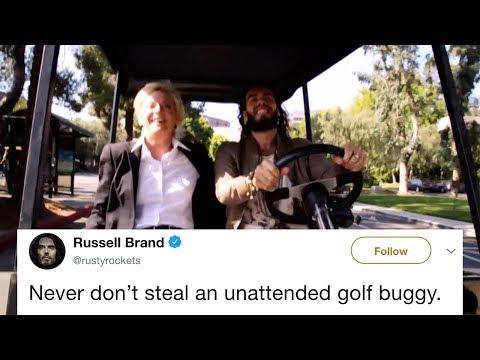 Russell Brand's golf